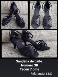 Sandalias de baile. Referencia S387